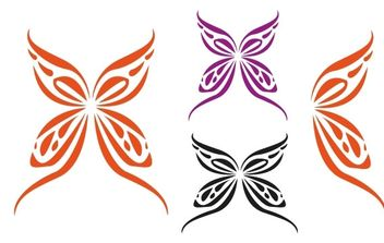 Butterflye - Free vector #171323