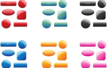 Web 2.0 Icons - vector #171373 gratis