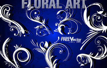 Free Floral Clip Art - Free vector #172253