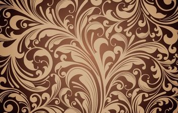 Floral Ornament Vector Background - бесплатный vector #172363