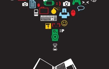 Computer Equipment - Free vector #172373