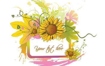 Summer floral - Free vector #172713
