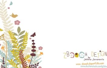 Spring Background - vector gratuit #172733