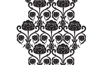 Free Floral Vector Ornament - vector #172753 gratis