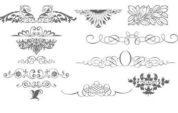 Free Vector Ornaments - Free vector #172853