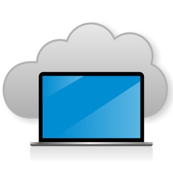 Cloud computing concept - бесплатный vector #173333