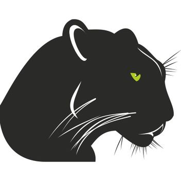 Black panther vector - vector gratuit #173353