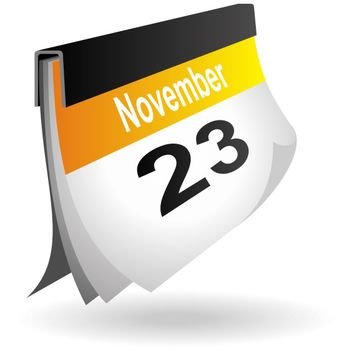 Calendar Icon - vector #173493 gratis