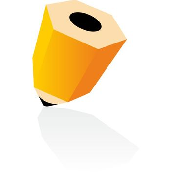 3d pencil icon - Free vector #173503