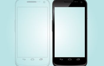 Google Galaxy Nexus Phone - Kostenloses vector #173893