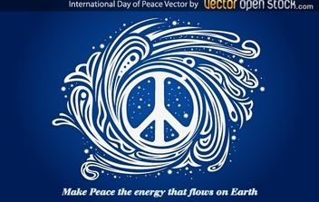 International day of peace - бесплатный vector #173973