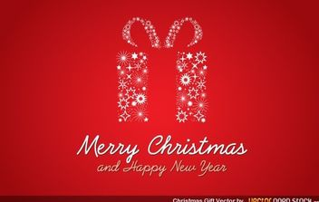 Christmas Gift - Kostenloses vector #174693