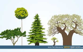 Vector Tree Collection - Free vector #174753