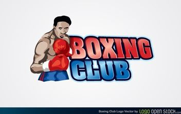 Boxing Club Logo - vector #174773 gratis