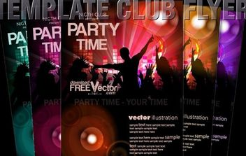 Vector Template Flyer - vector gratuit #174853