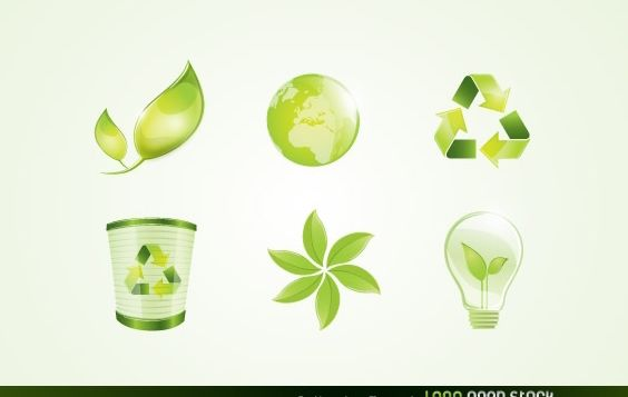 Eco Vector Logo Elements - vector #174863 gratis