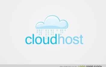 CloudHost - Free vector #174943