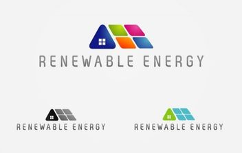 Renewable Energy Logo - vector gratuit #175003
