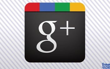 Google Plus Vector Icon - Free vector #175503