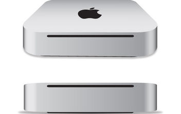 Apple Mac mini 2011 free vector - vector gratuit #175543
