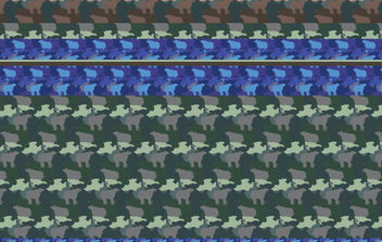 Free Illustrator Patterns - Camouflage - Kostenloses vector #175683