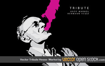 Vector Tribute Hesse-Warhol - Free vector #176283