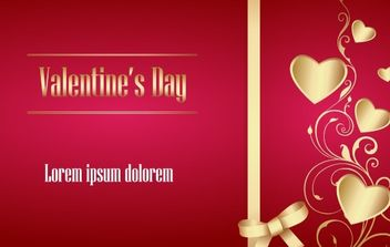 Valentine Vector Artwork 1 - vector gratuit #176383