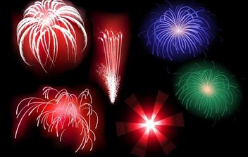 Fireworks 1 - Free vector #176613