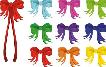 Vector Holiday Ribbon - Kostenloses vector #176943