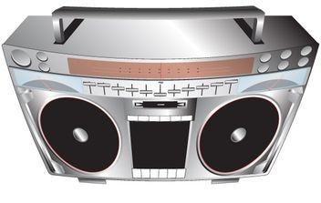Music system set - vector #177183 gratis