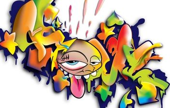 Graffiti Artwork - vector #177753 gratis