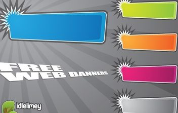 Vector Banners - Free vector #177773