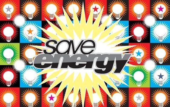 Save Energy Vector - vector #177873 gratis