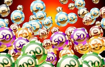 Free set of vector Golden an shiny casino chips - vector gratuit #178113