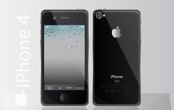 iPhone vector - Free vector #178253