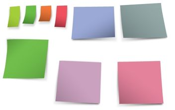 Post-it - vector gratuit #178413