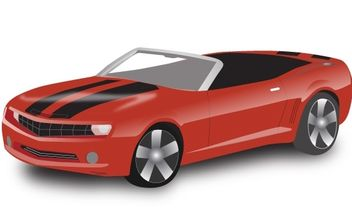 Chevy Camaro Convertible - Free vector #178503