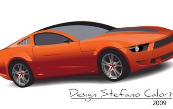 Ford Mustang - Free vector #178553