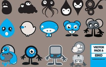 pack of little things - Free vector #178633