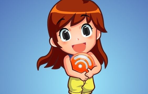 Free Vector Character RSS Orb Girl - Free vector #178823