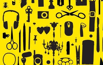 Free VECTORS miscellaneous objects - бесплатный vector #178903
