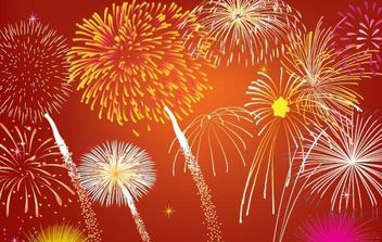 Fireworks - Free vector #178993
