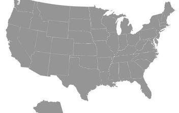 Us Map Vector - vector #179013 gratis