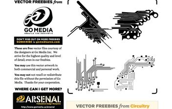 Vector Freebie: Circuitry - Free vector #179123
