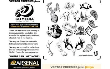 Animal Vectors from Jimiyo - Kostenloses vector #179143