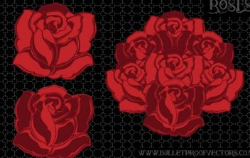 Tattoo roses - vector #179223 gratis