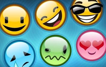 Vector Smiley Pack - бесплатный vector #179283