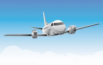 Airplane - vector gratuit #179413