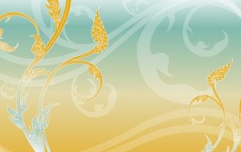 Thai painting_beaujungka - Free vector #179703