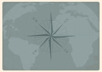 Nautical Chart Earth Map - Free vector #181803